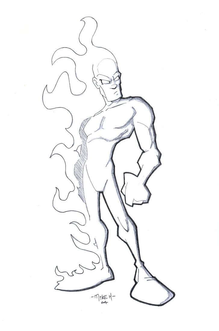 Johnny Storm : The Human Torch by tyrannus on deviantART | Character ...