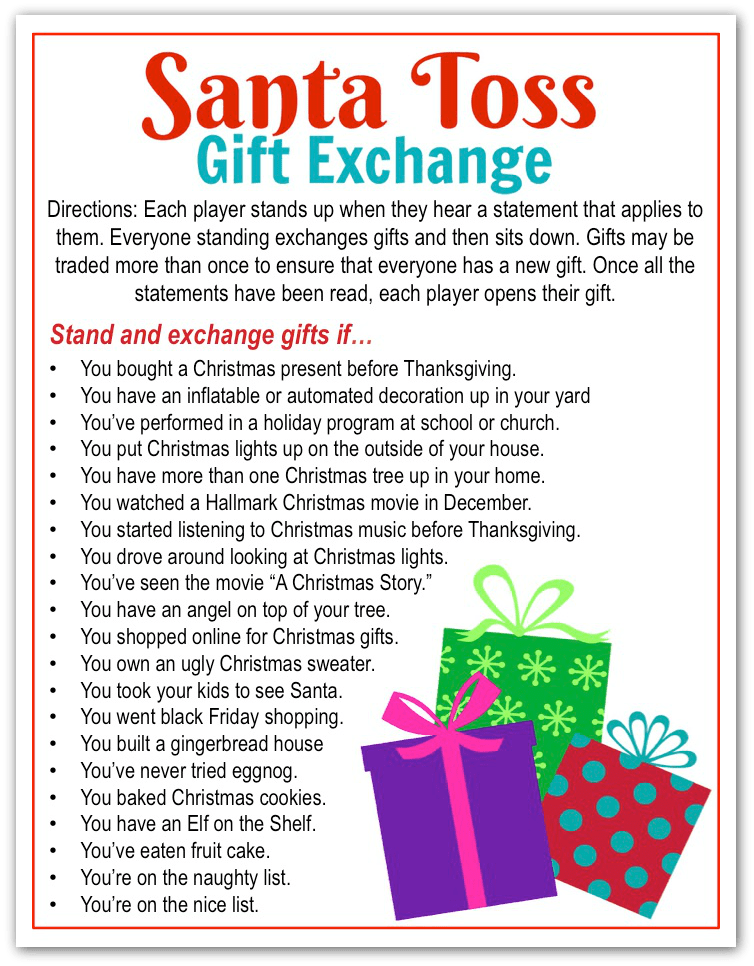 5 Awesome Holiday Gift Exchange Games to Play 5 Awesome Holiday Gift Exchange Games to Play