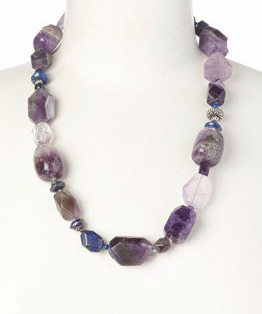Another great find on #zulily! Sterling Silver & Amethyst Necklace by Barse #zulilyfinds