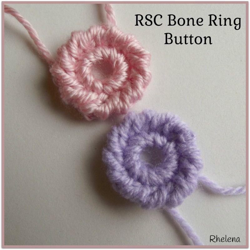 RSC Bone Ring Button Pattern from CrochetN'Crafts ༺✿ƬⱤღ  https://www.pinterest.com/teretegui/✿༻