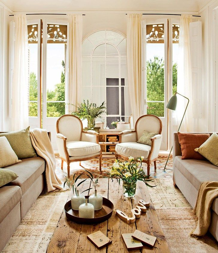 pinterest home decor living room%0A Sunny Mood in Spain  design d  cor  interior  Spain  Barcelona  sunny  Living  Room