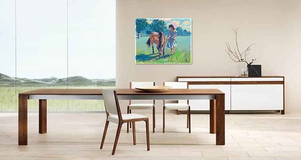 Картина по номерам «Его любимая»   Абстрактные акриловые ...