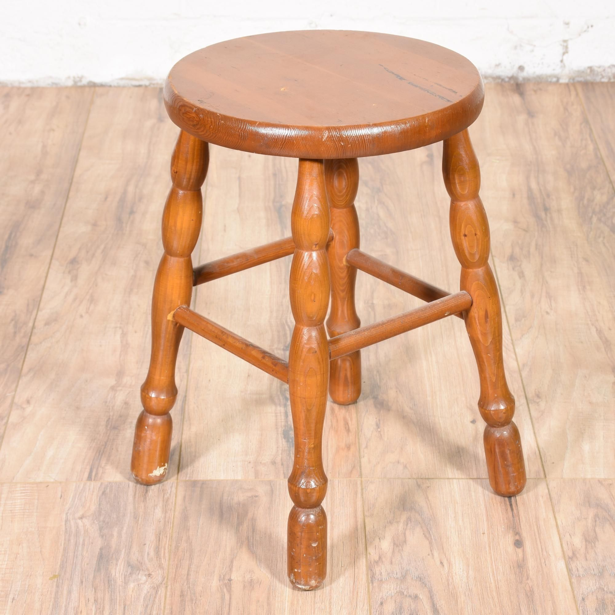Furniture Legs San Diego eclectic turned leg stool | small stool, stools and san diego