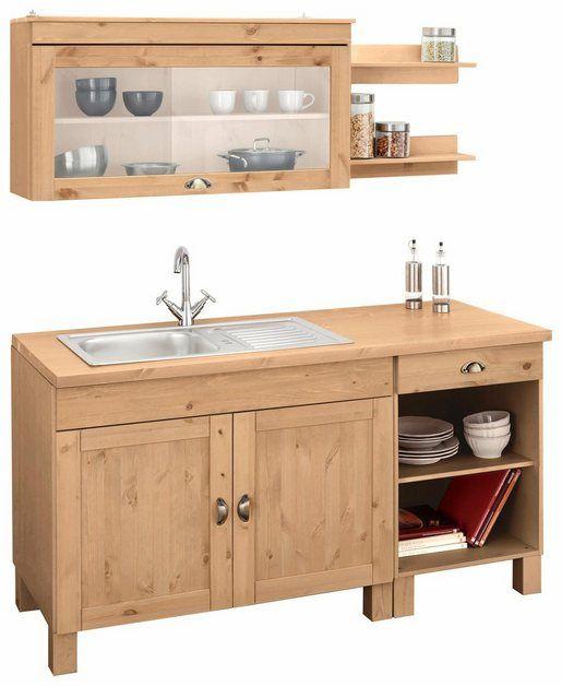 Küchenzeile »Oslo«, ohne EGeräte, Breite 150 cm