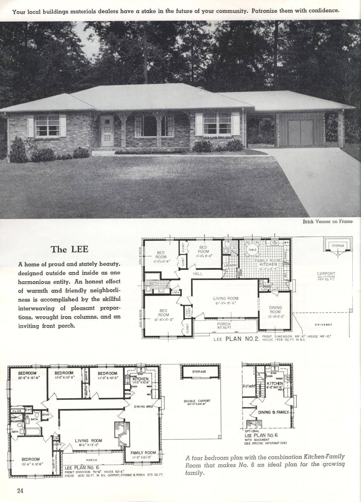 Better Homes At Lower Cost A 46 By Standard Homes Co The Lee Better Homes Traditional House Ranch House