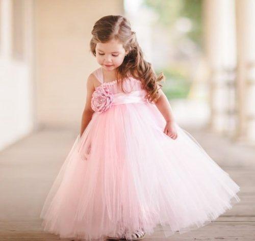 vestidos de fiesta de nena   Clothing and dresses for kids ...