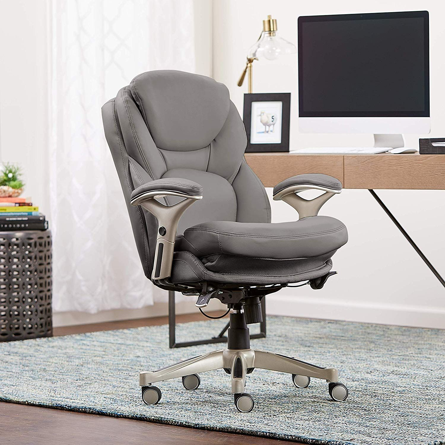 Amazon.com: Serta Works Ergonomic Executive Office Chair with Back