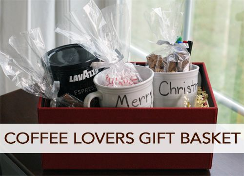 101 Days of Christmas: Coffee Lovers Gift Basket   Coffee lover ...
