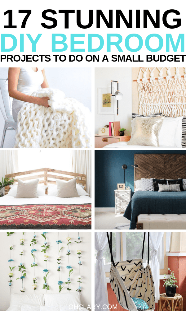 17 Stunning Diy Projects For Your Bedroom Diy Home Decor For Teens And Adults B Diy Projects For Bedroom Diy Projects For Your Bedroom Romantic Bedroom Decor