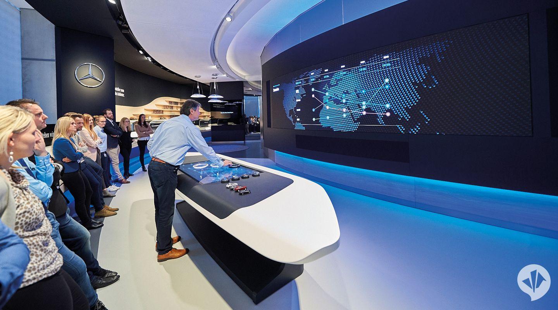 Brand Space/Markenraum MercedesBenz Museum in 2020