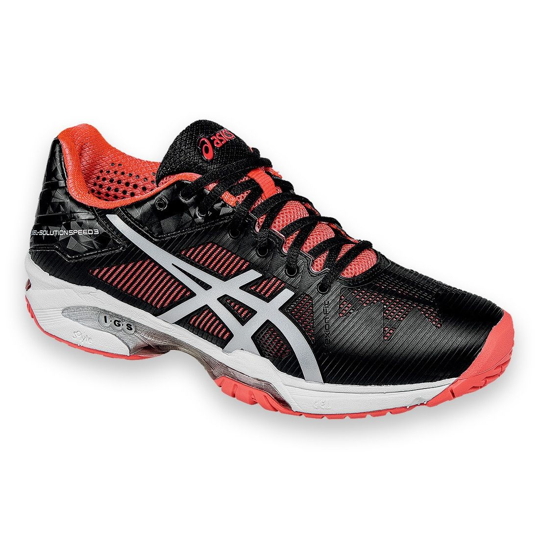 dd2998bef Asics Women s Gel Solution Speed 3 Synthetic and Mesh Tennis Shoes ...