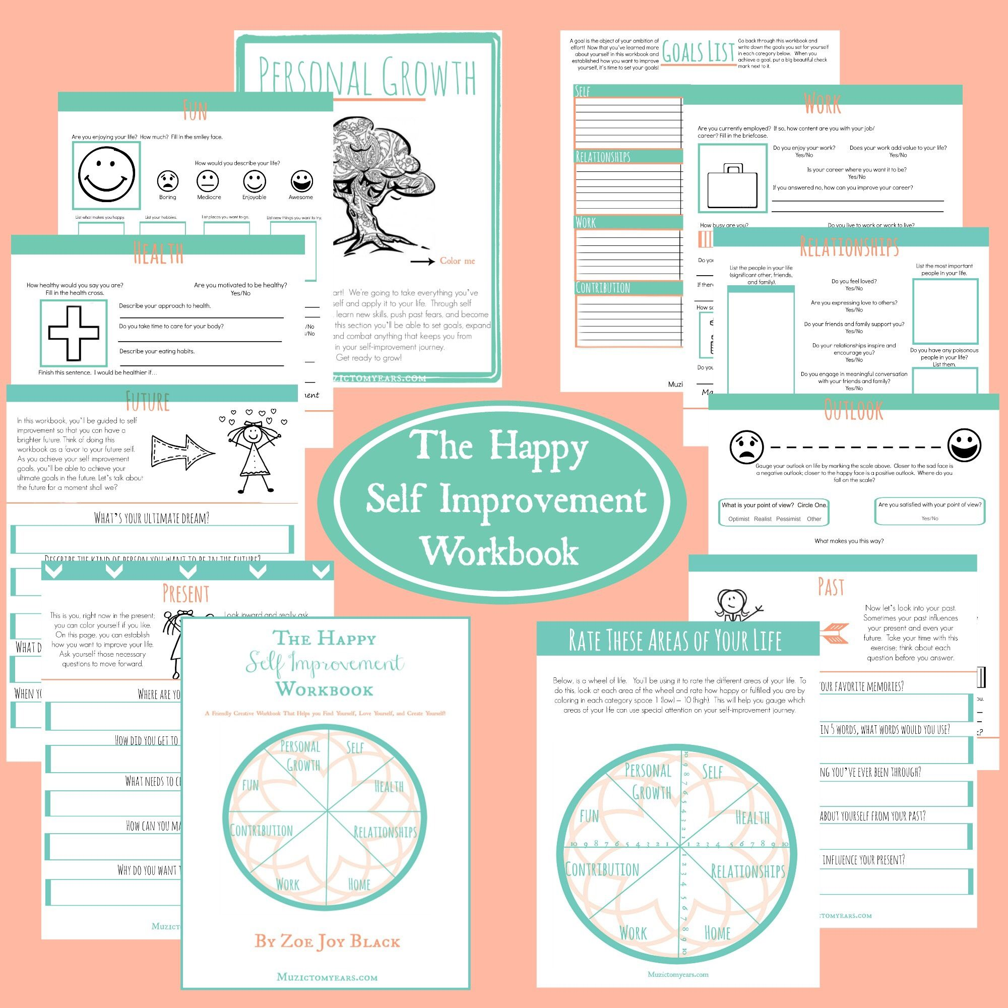 The Happy Self Improvement Workbook