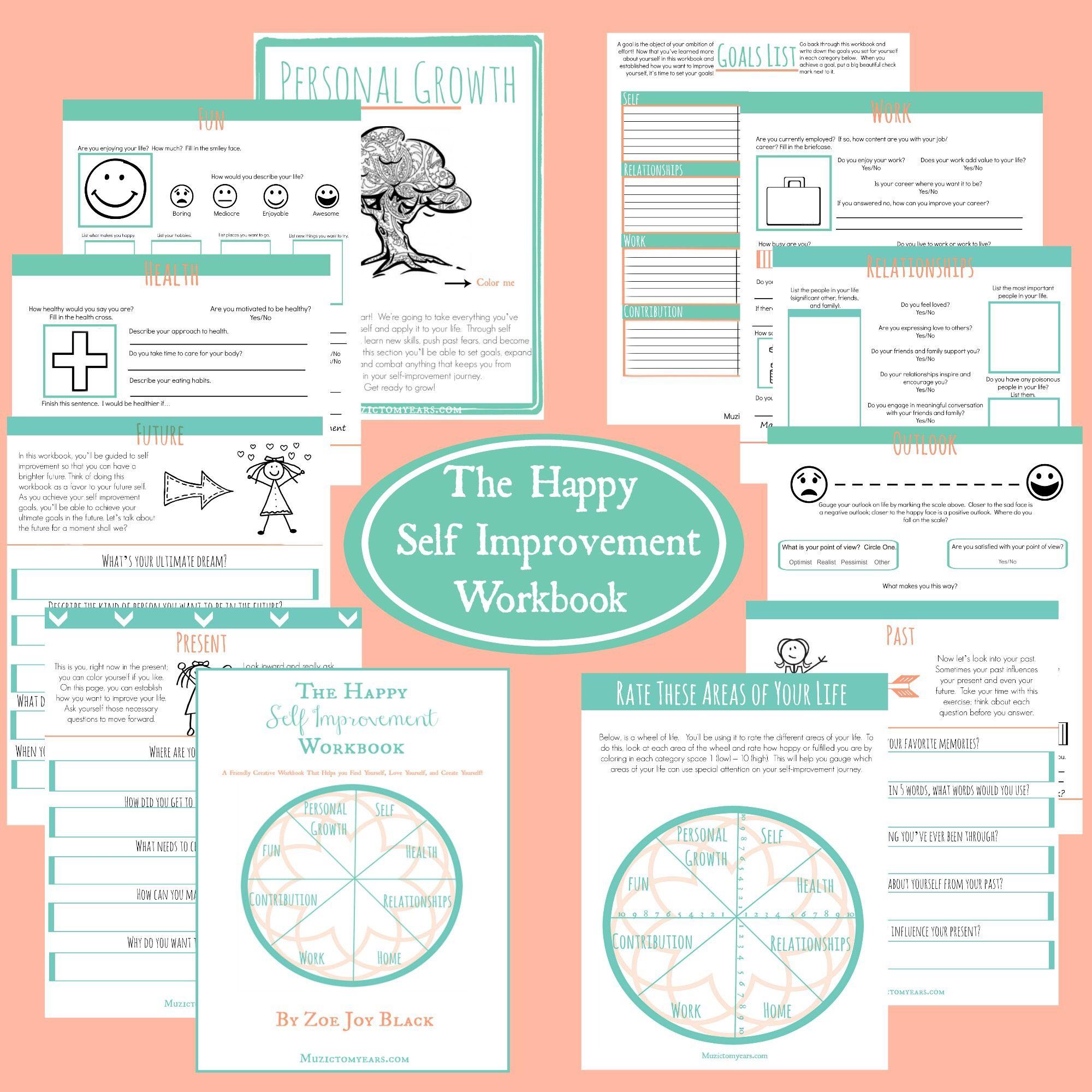 The Happy Self Improvement Workbook