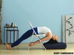 Resultat De Recherche D Images Pour Iyengar Yoga Backbend Chair Yoga Iyengar Posturas De Yoga Clase De Yoga