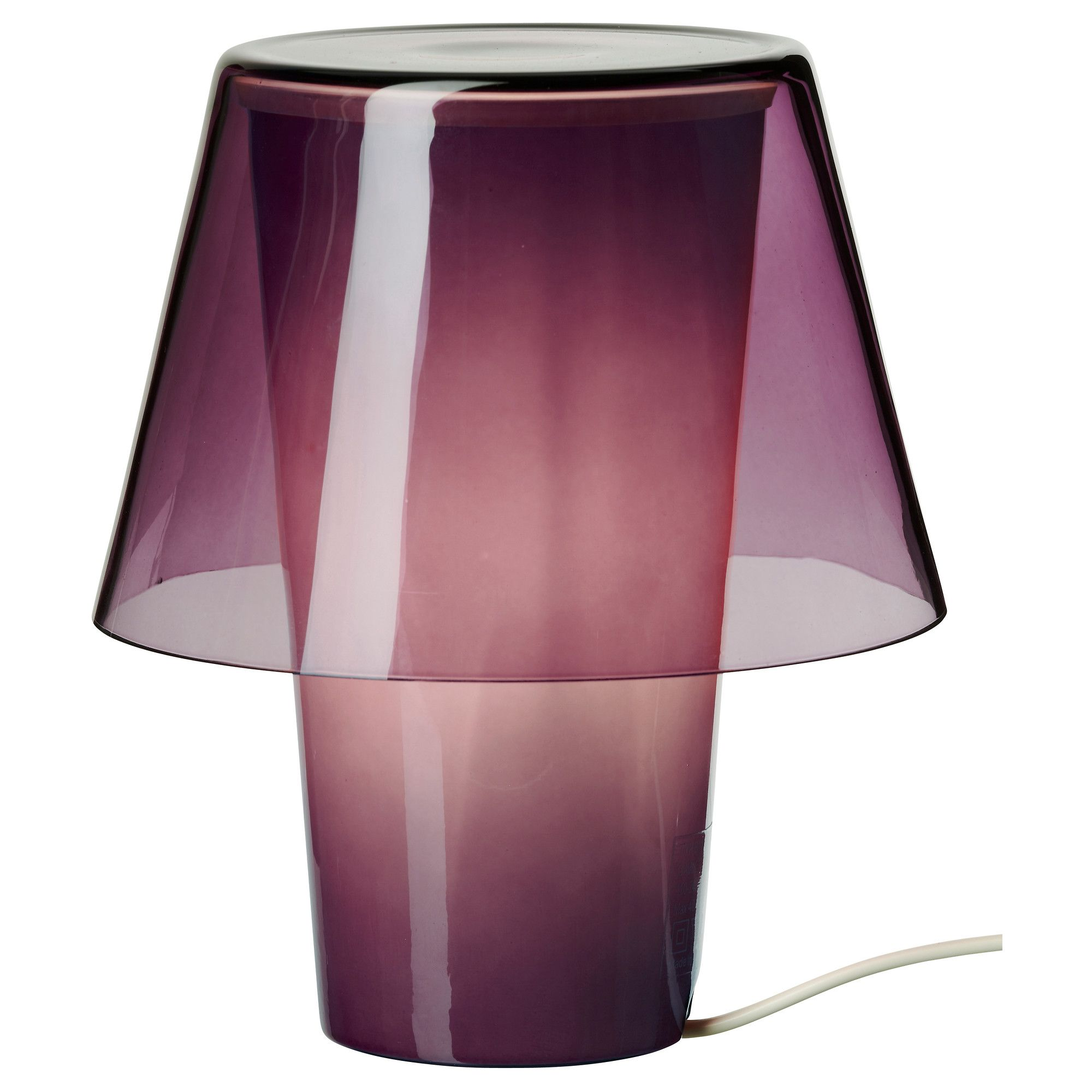 Ikea gavik table lamp in purplefrosted glass dream home ikea gavik table lamp in purplefrosted glass geotapseo Gallery