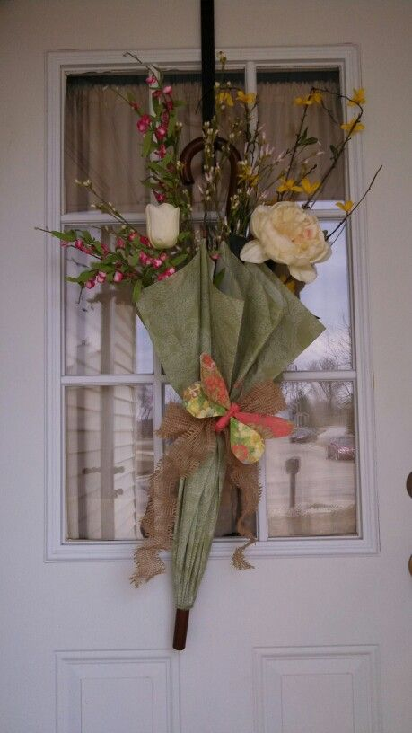 Front Door Decor Spring Has Sprung Easy Diy Spring Break Craft