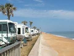The Beverly Beach Rv Camptown Resort In Flagler Is A Beachfront Spot To Park Your Palm Coast Florida