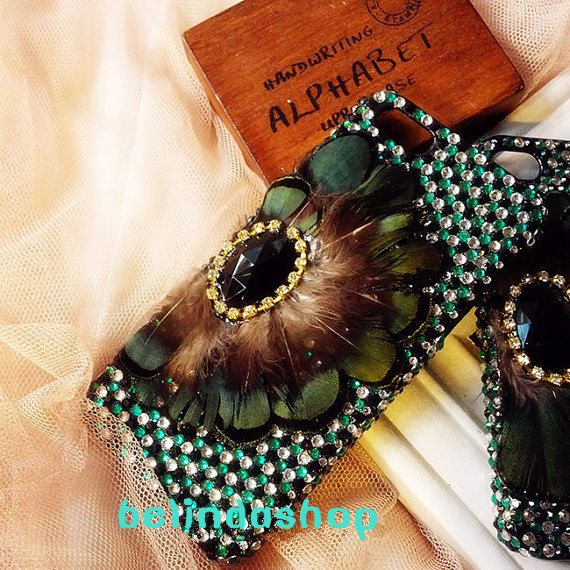 iphone 4 casebling rhinestone iphone 5/5s/5c by belindashop, $32.99