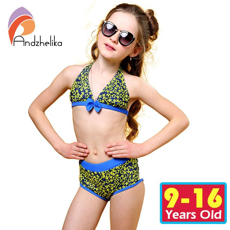 2cc6c15bb6afa Children Swimsuit Girls Bikini Set Print Bikini Set Cute Bow Bodysuit Kids  Swimming Suit For Children Girls Swim Suit  Affiliate