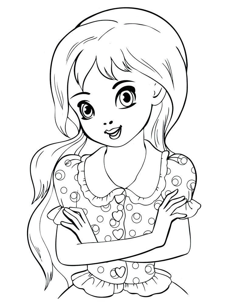 Раскраска для девочек 10 12 лет | Раскраски, Бесплатные ...
