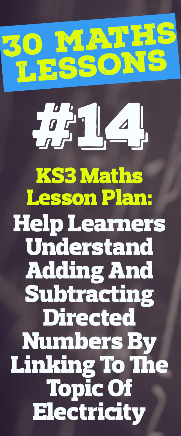 KS3 Maths Lesson Plan - Help Learners Understand Adding ...