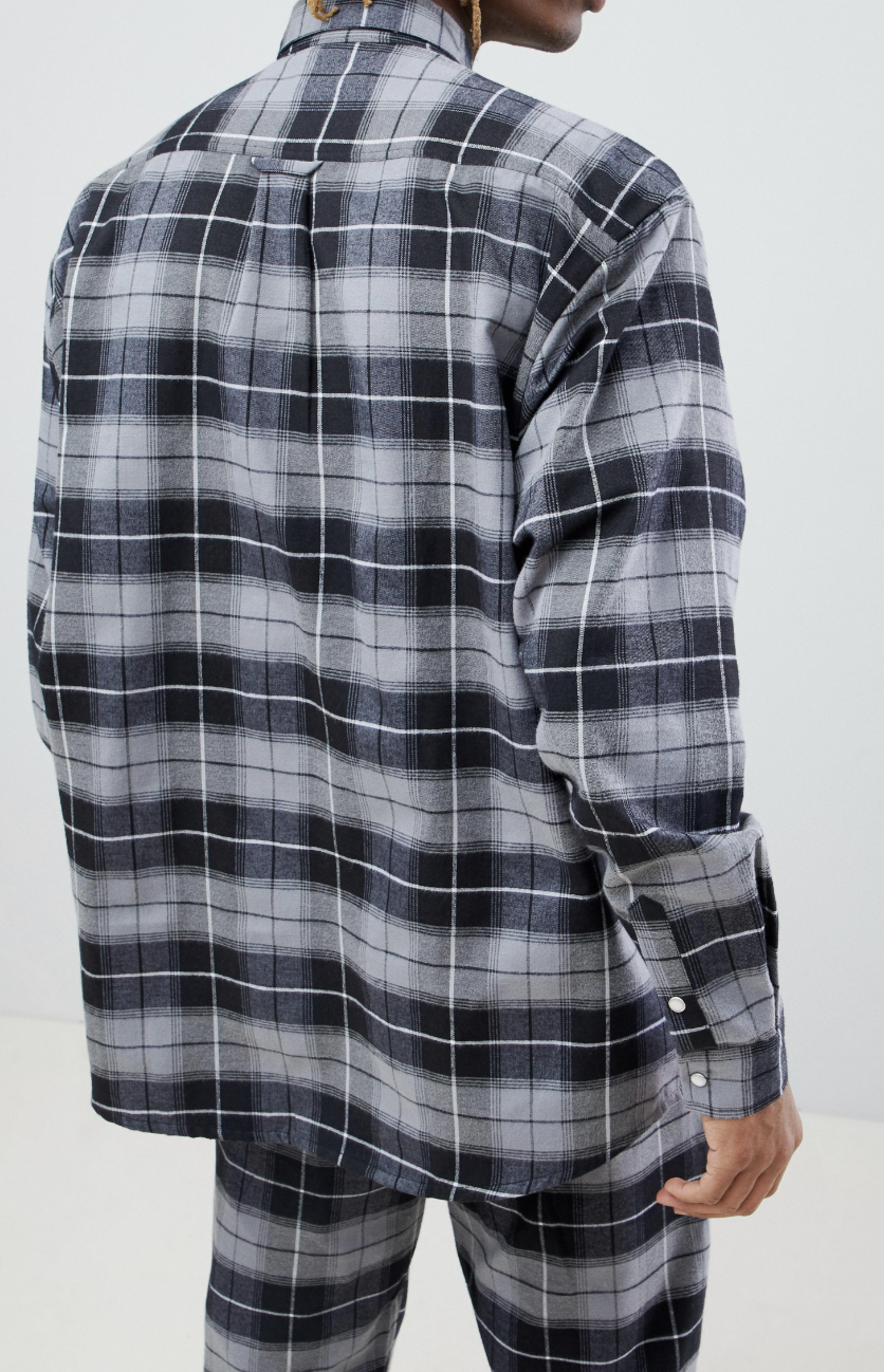 c1139ca5c35 On my wish list   ASOS x Unknown London Oversized Check Flannel Shirt from  ASOS  ad  men  fashion  shopping  outfit  inspiration  style  streetstyle   fall ...