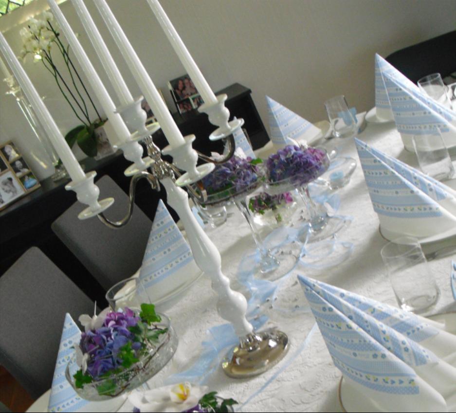 feire d p her finner du tips og ideer til d psdagen birthday party table decorations. Black Bedroom Furniture Sets. Home Design Ideas