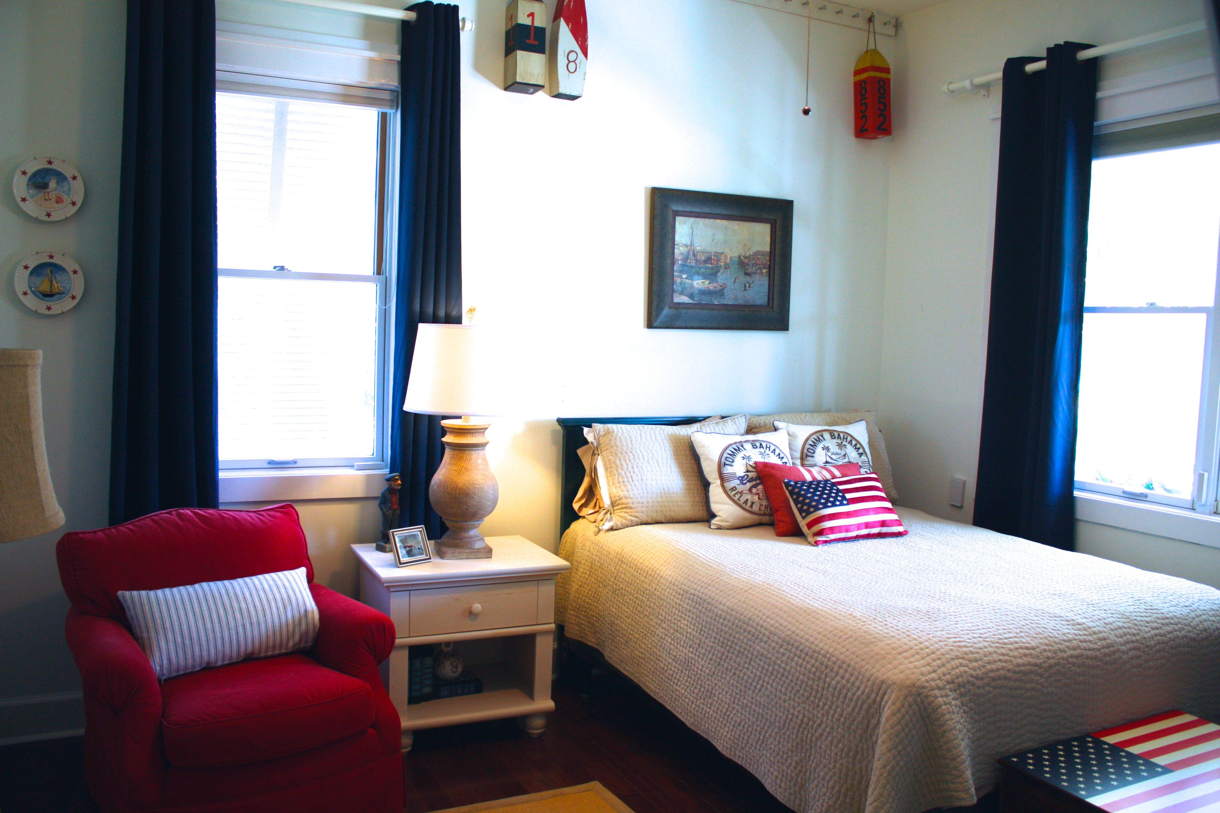 boy's nautical bedroom decor  boys bedroom makeover