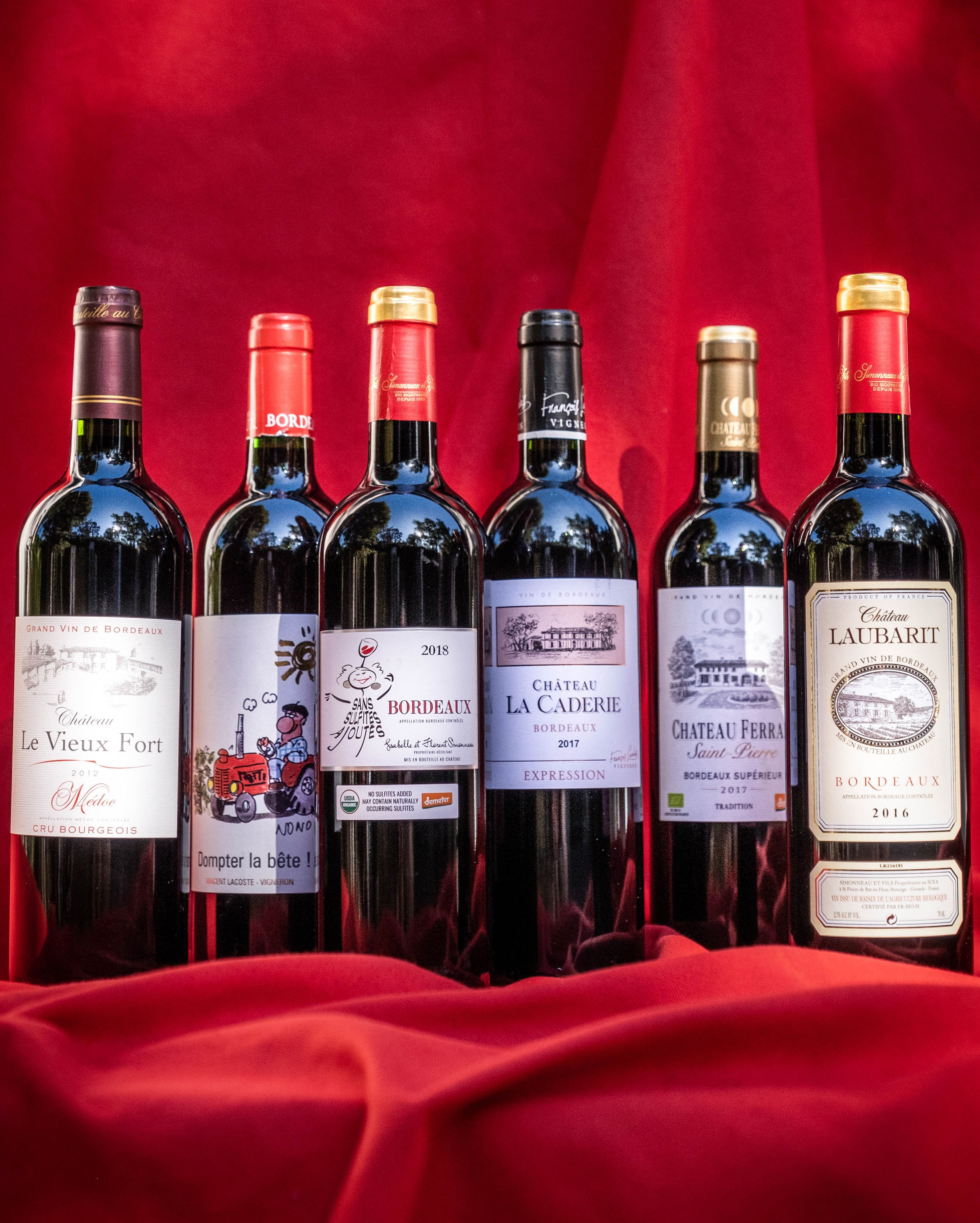 Enjoy The Elegant Taste Of Natural Bordeaux Without Sacrificing Your Healthy Lifestyle Iconic Grapes With Strong Skin Organic Wine Bordeaux Sugar Free Wine
