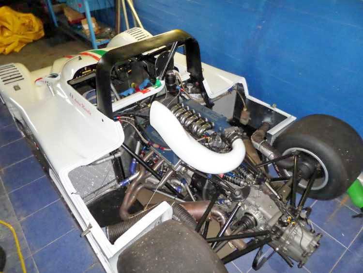 Lucchini P08 Alfa Romeo CN4 (Alfa 3.0 V6 24V engine)