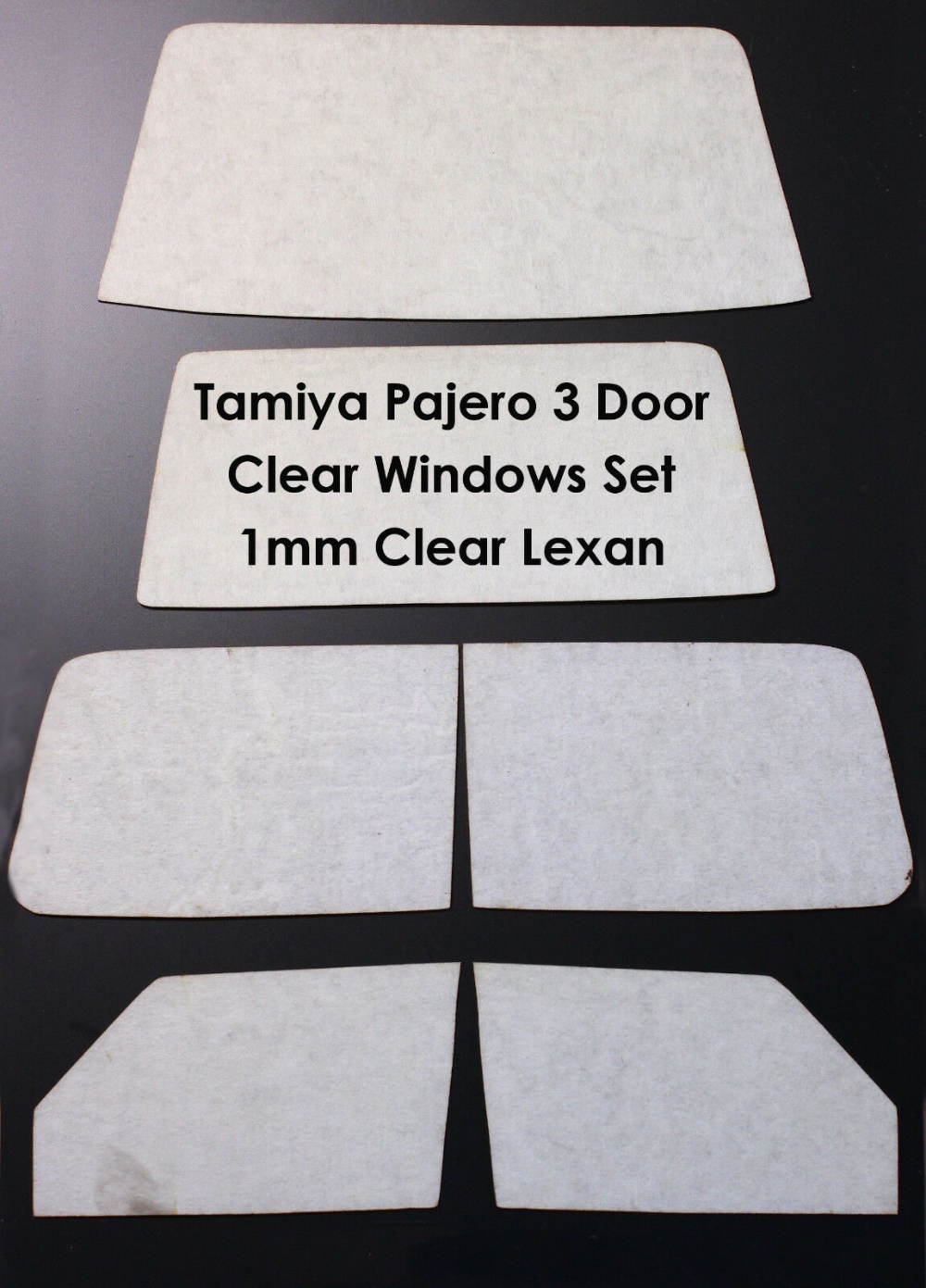 Details About 2016 New Clear Lexan Windows For Tamiya Cc 01 Pajero