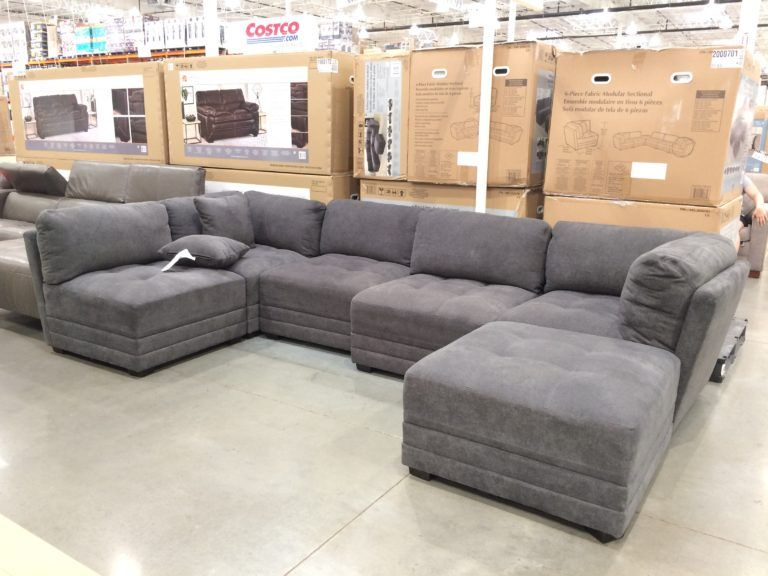 costco 2000701 6pc fabric modular sectional my sectionals in 2019 rh pinterest com