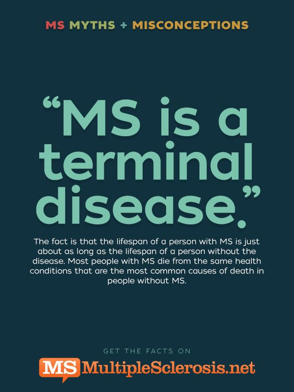 myths and misconceptions about ms page 4 of 6 multiplesclerosis rh pinterest com
