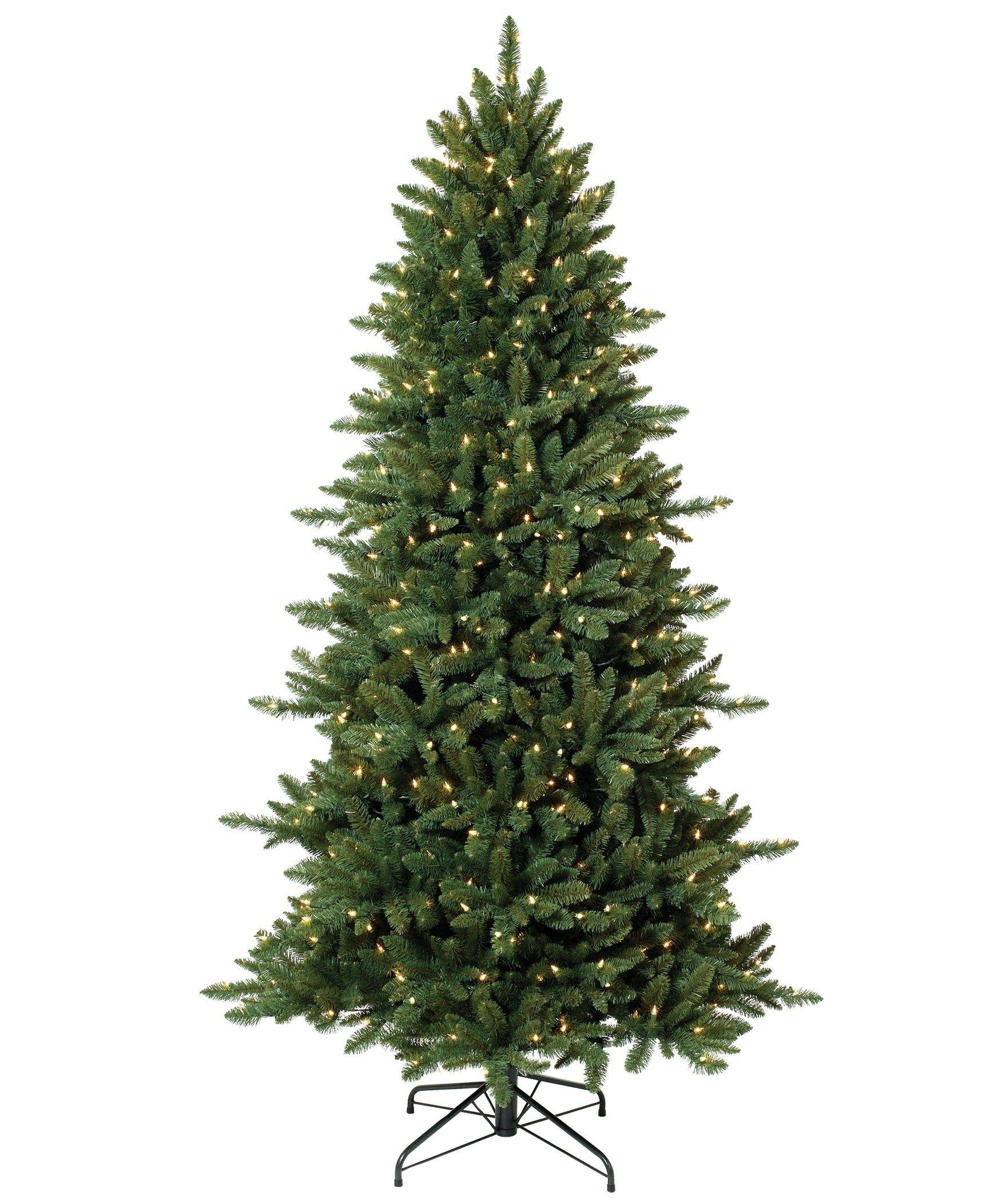 pine crest slim spruce artificial christmas tree 7ft unlit sale for 170 - 7ft Slim Christmas Tree