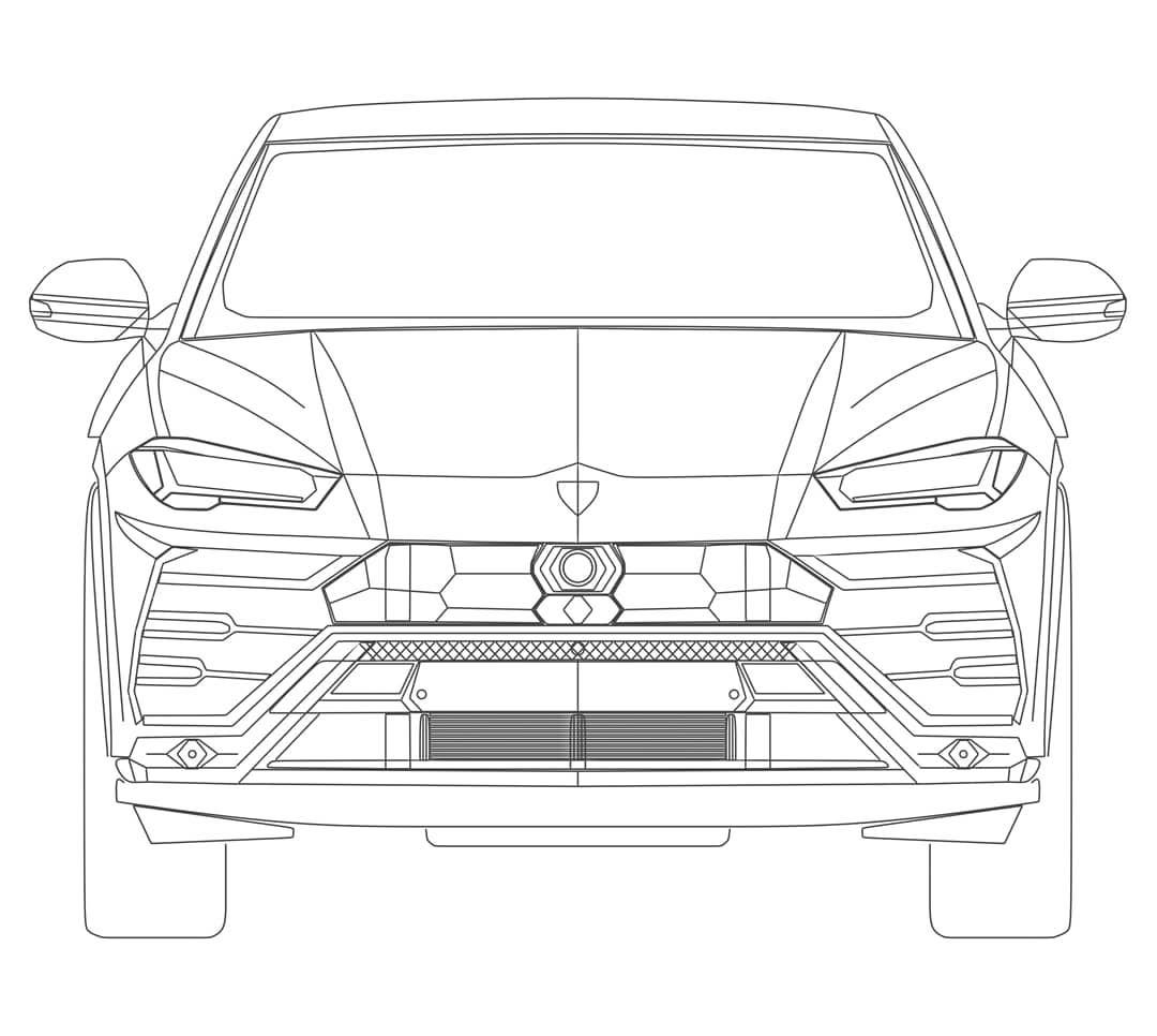 Custom Made Blueprints For Lamborghini Urus Time To Model It Prilaga Drawing 3ds Drawing Expressions Beauty Blender Blueprints