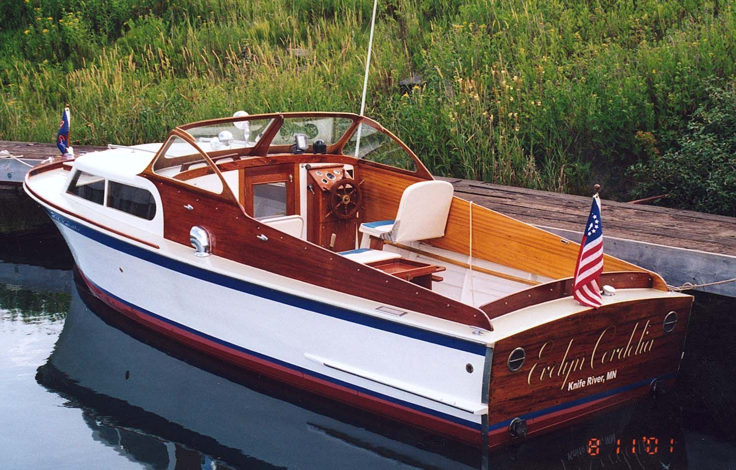 1947 Chris Craft Cabin Cruiser  Gorgeous! | wanderlust