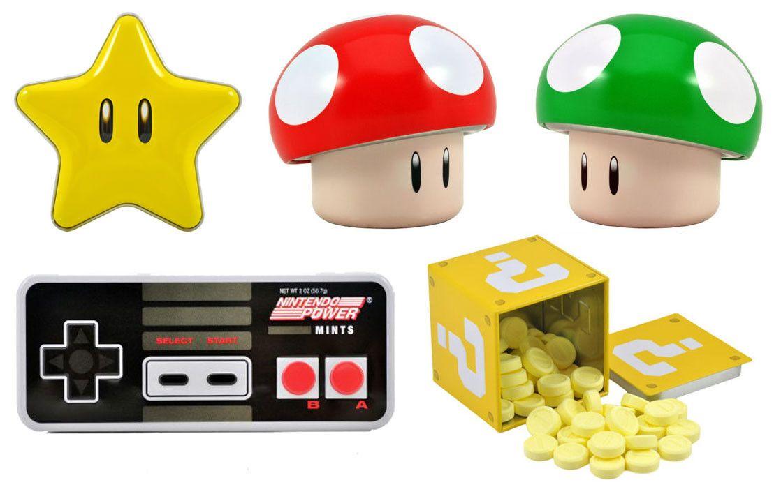Nintendo-karkit - Hauskoja ja hyviä!