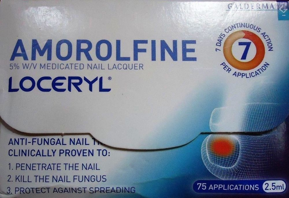 2 X Loceryl 5% Nail Lacquer 2.5ml Fungal Nail Infection- Free ...