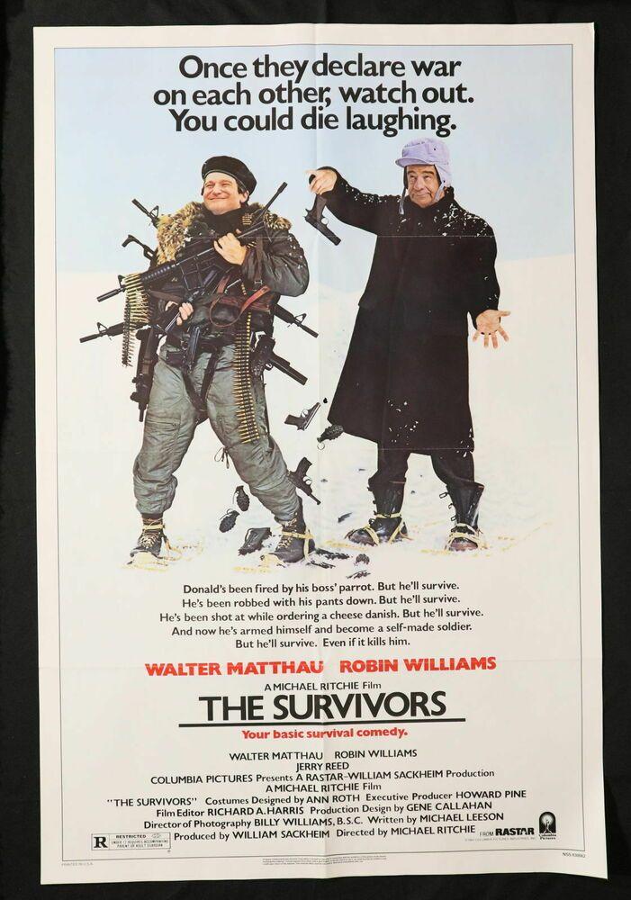 The Survivors 27x41 original single sided one sheet movie