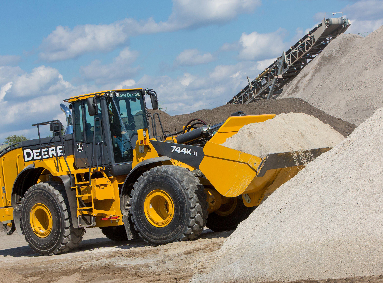 John Deere 744K II 824K ll & 844K ll | JD construction equipment ...