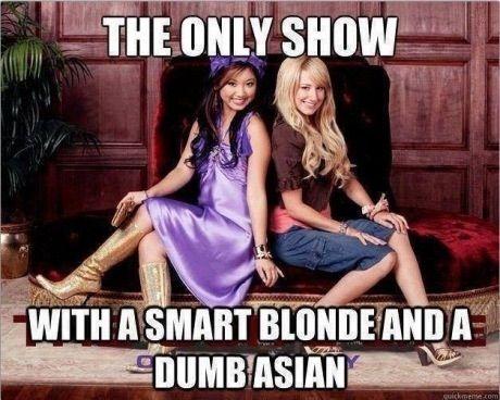 Image via We Heart It #asian #blonde #funny #nickelodeon #perfect #zac&cody