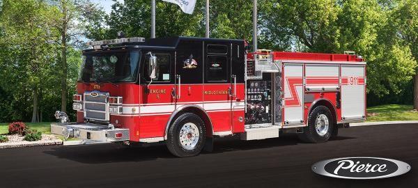 Midlothian Fire Department IL - #Rescue #Setcom #Fire #FireDept #Apparatus #Pumper new deliveries