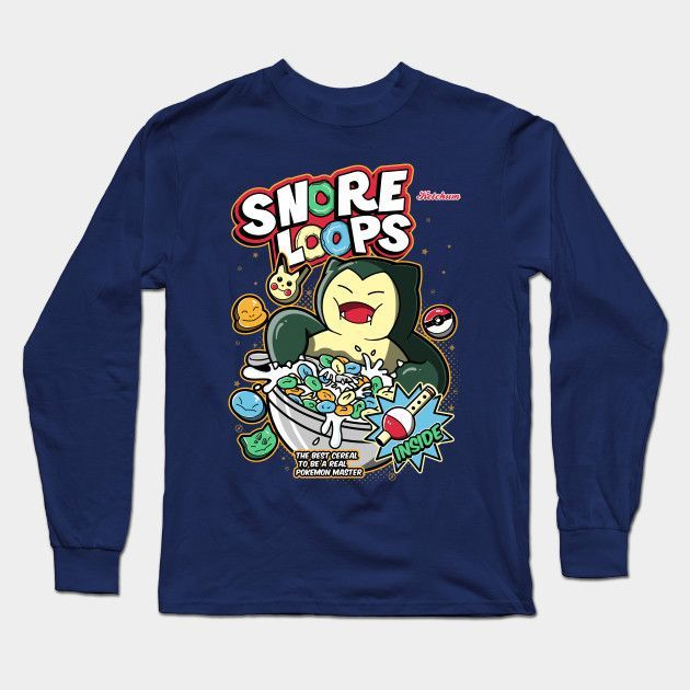 Snore Loops 2.0 Long Sleeve T-Shirt