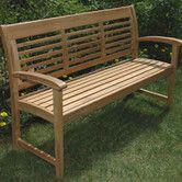 Teak Westerly Garden Bench Outdoor Garden Bench Garden Bench Outdoor Bench