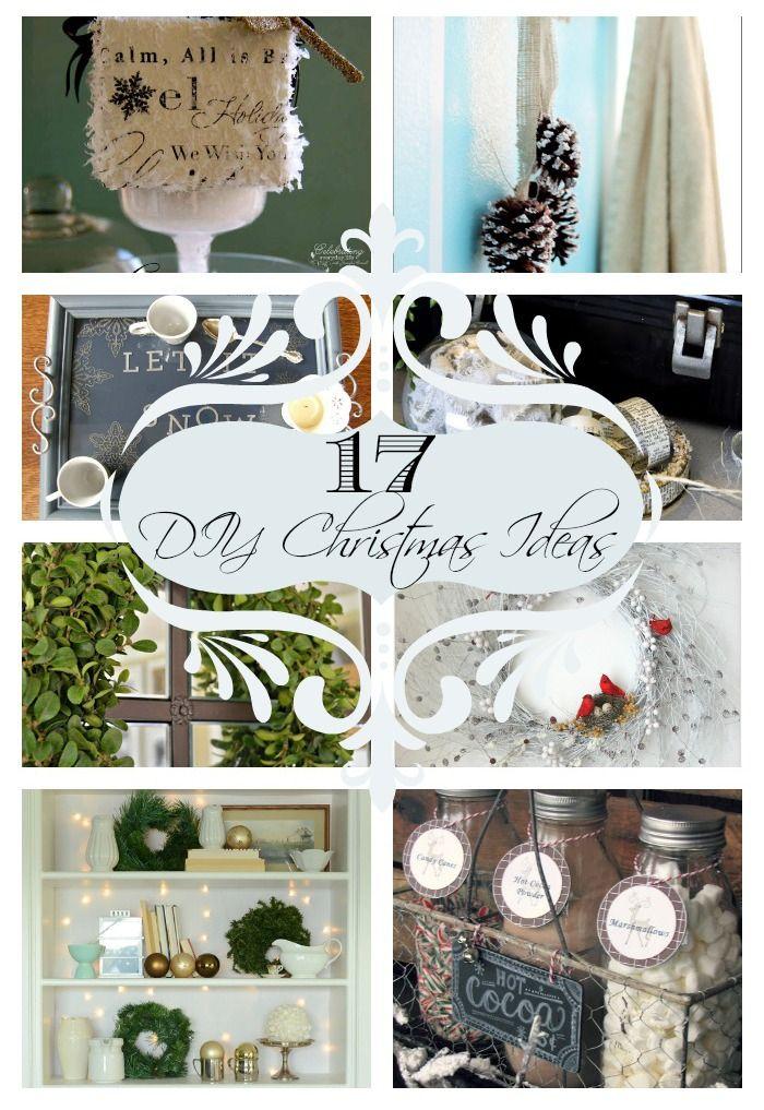 17 DIY Christmas Ideas - Home Stories A to Z