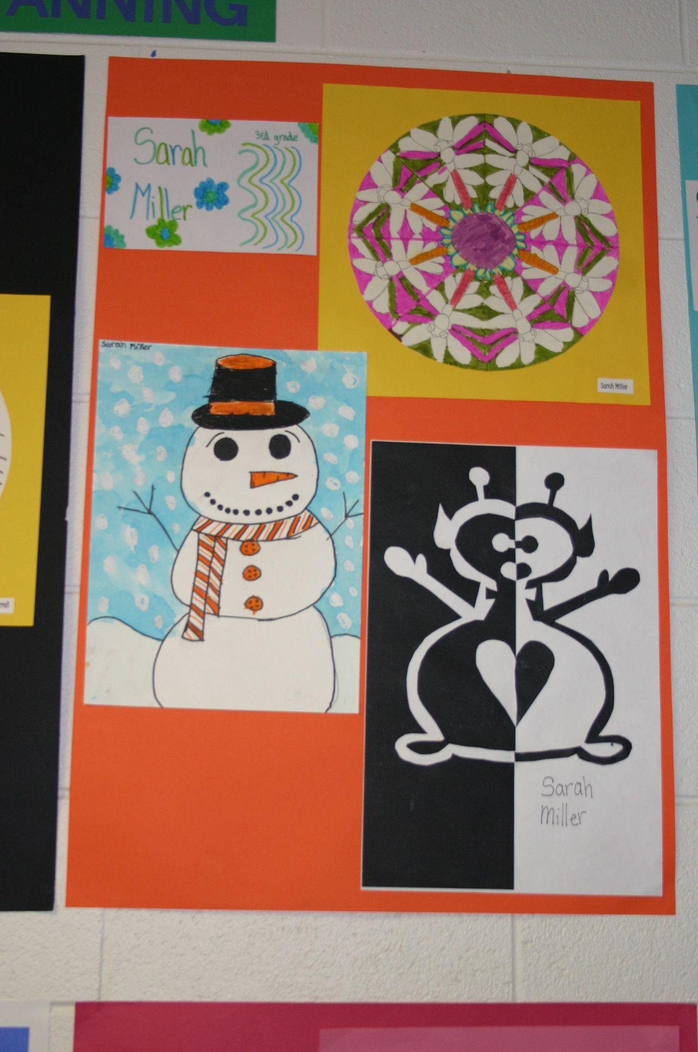 4th Grade Art Show A Symmetry Spotting Times Two