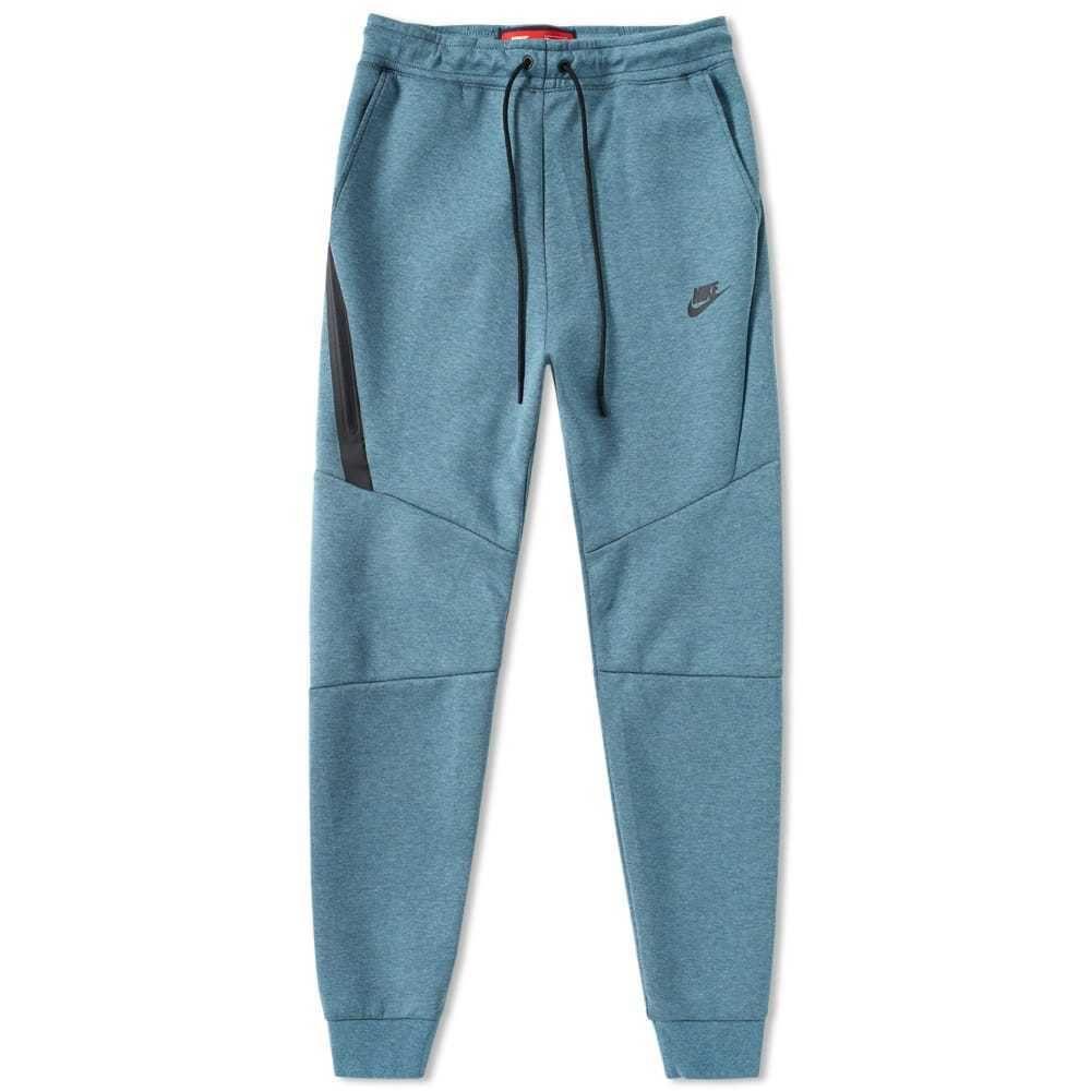 Mens nike tech fleece jogger pants smokey blue heather