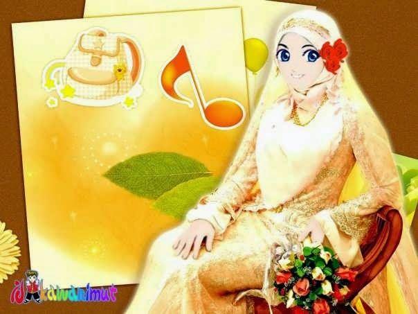 Kumpulan Gambar Kartun Muslimah Spicalandblog Hijab Cantik