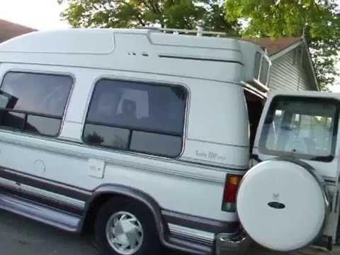 1994 E150 Turtle Top Camper Van Turtle Top Vintage Camper Vans
