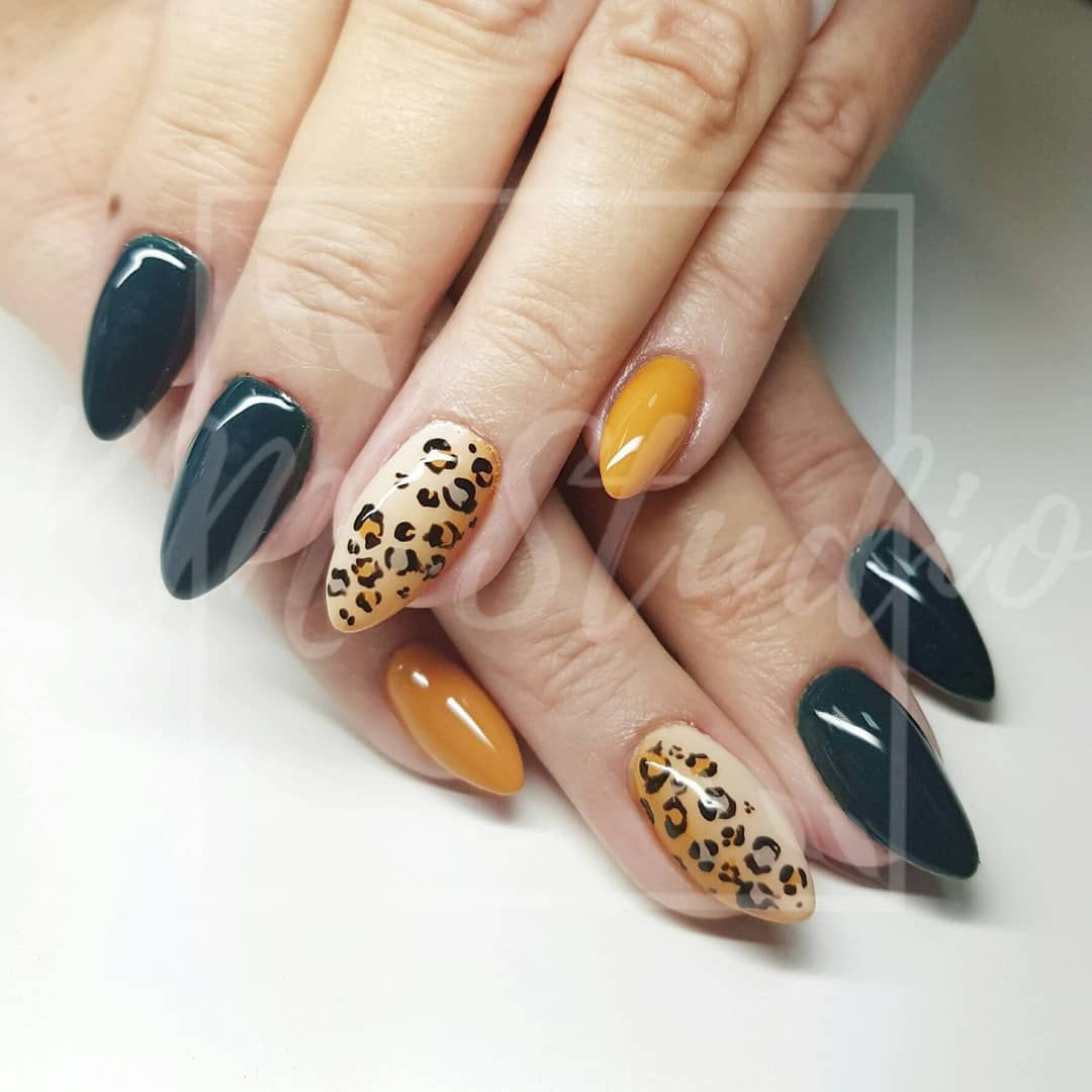 Autumn Nails Image By Lorena Pena On Unas Leopard Nails Winter